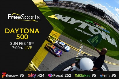 Daytona 500 NASCAR Cup opener to be shown on free-to-air TV in UK