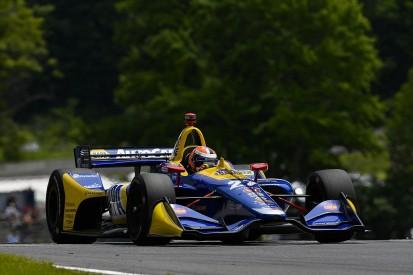 Road America IndyCar: Rossi beats Penskes to top spot in practice