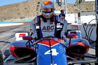 Phoenix IndyCar testing: Leist leads Fittipaldi in oval rookie test