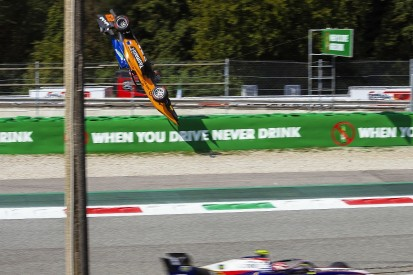 Peroni to auction helmet from Monza F3 crash to help fund return