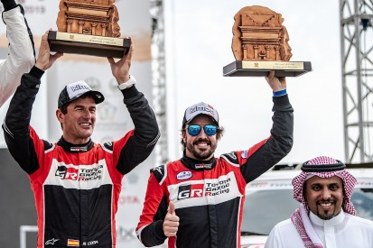 Fernando Alonso takes maiden rally-raid podium ahead of Dakar 2020
