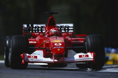 Schumacher's 2002 F1 title Ferrari to be auctioned at Abu Dhabi GP