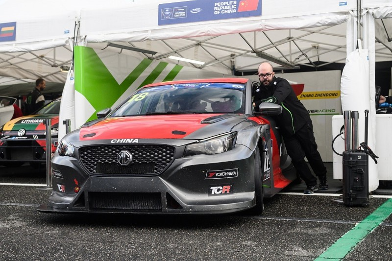 MG TCR car in international bow at FIA Motorsport Games