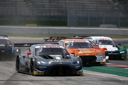 Di Resta and Dennis in two-day Aston DTM team test at Vallelunga