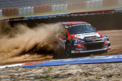 South Africa World Rallycross: Gronholm leads from Timmy Hansen