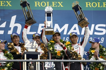 Alonso, Nakajima, Buemi win Le Mans 24 Hours and 2018/19 WEC title