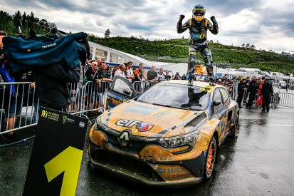 WRX Norway: Marklund claims first series win at suddenly wet Hell