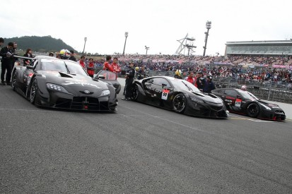 2020 SUPER GT cars complete first public runs at Motegi season ender