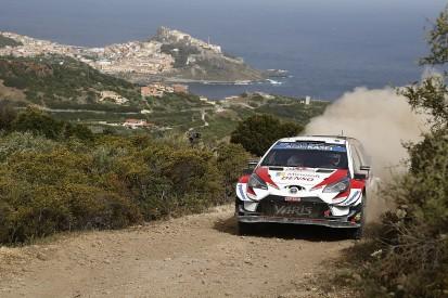 WRC Rally Italy: Ott Tanak battles past Dani Sordo into lead