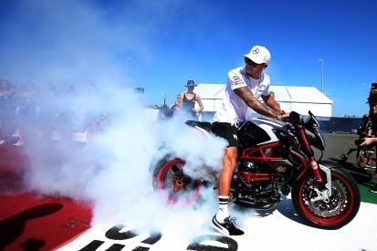 Hamilton/Rossi F1 and MotoGP ride swap locked in for December