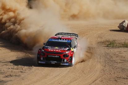 WRC Rally Italy: Sebastien Ogier leads early Citroen one-two
