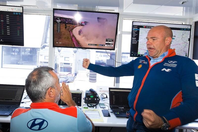 Hyundai chief Adamo open to Ogier talks in WRC tactics row