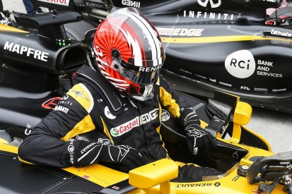 Nico Hulkenberg says he did not 'slack' alongside Jolyon Palmer in F1