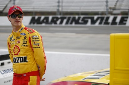 Logano regrets shoving Hamlin after Martinsville NASCAR Cup race