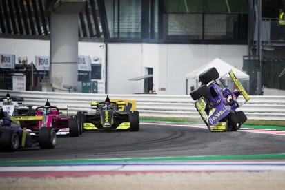 Powell: W Series title hopes now slim after airborne Misano crash