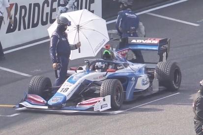 Why Kobayashi started on wet tyre in dry Super Formula decider