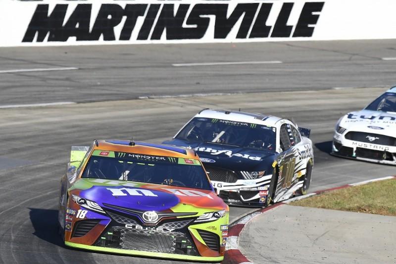 "Almirola to make NASCAR Cup Series playoffs ""hell"" for Busch"