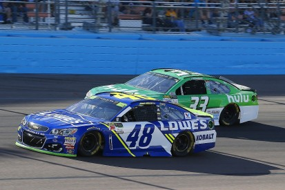 Johnson 'never worked so hard for so little' as in 2017 NASCAR