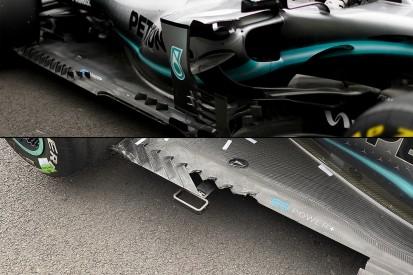Hamilton: Mercedes F1 floor damage cost several tenths per lap