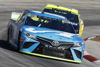 Truex takes dominant Martinsville NASCAR Cup win for JGR