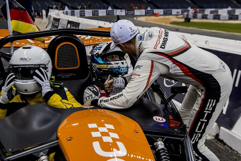 Race of Champions: Team Germany's Rast and Bernhard win Nations Cup