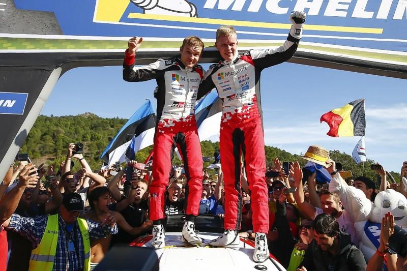 WRC Spain: Toyota's Tanak takes '19 title, Neuville wins for Hyundai
