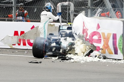"Bottas had knee pain after ""nasty"" second impact in Mexico F1 crash"