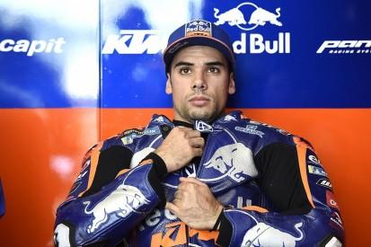 Oliveira explains cause of 186mph MotoGP FP4 crash