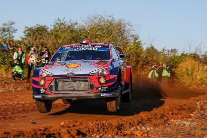 Sebastien Loeb leads WRC Rally Spain in Hyundai 1-2-3