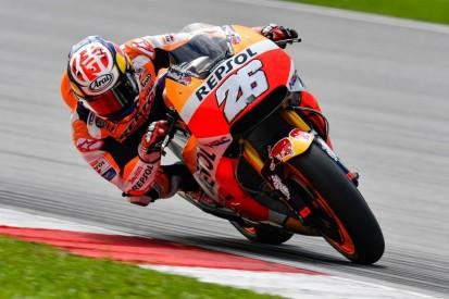Sepang MotoGP test: Dani Pedrosa quickest on opening day