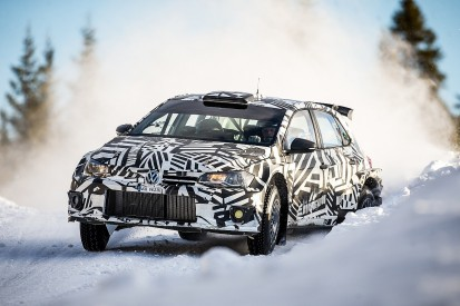 Petter Solberg and Marcus Gronholm test new VW Polo GTI R5