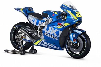 Suzuki MotoGP launch: Iannone, Rins reveal 2018 GSX-RR