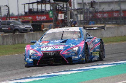 Lexus takes Super GT Thailand podium sweep as Button retires