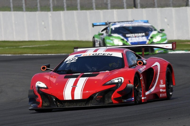 McLaren back to British GT Championship's top class for 2018