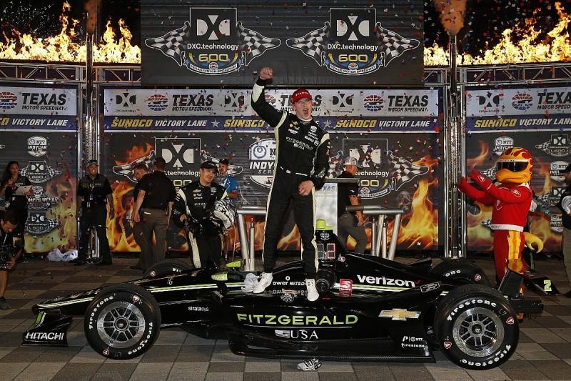 Texas IndyCar: Josef Newgarden fends off Alexander Rossi for win