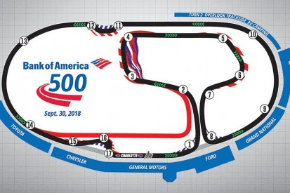Changes made to make NASCAR Charlotte 'roval' 10-15 seconds quicker