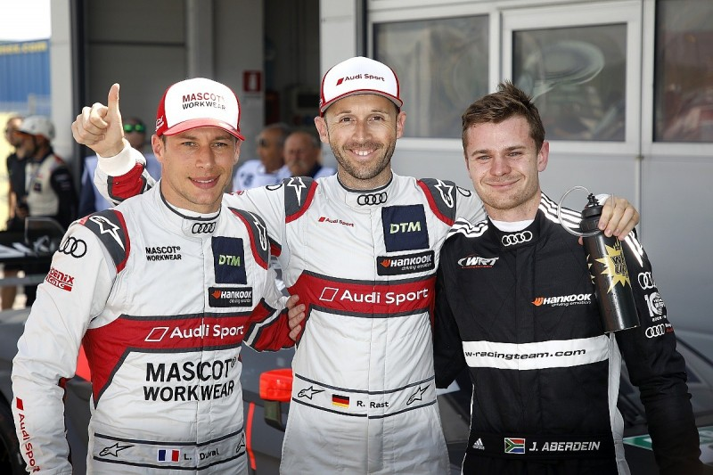 Misano DTM: Rast on pole for opening race, Audis lock out top four