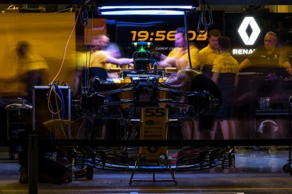 Renault F1 team was 'almost 10 years' behind rivals after takeover