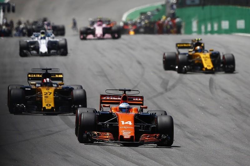 McLaren has overcome Renault F1 engine packaging headaches