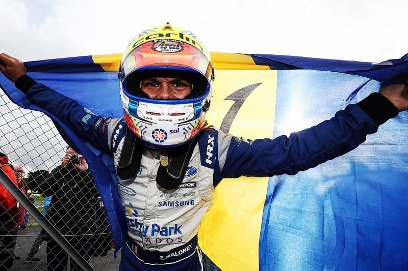 British Formula 4 2019: Carlin's Maloney wins title in Brands finale