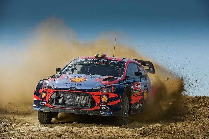 Neuville defends Hyundai Rally Portugal WRC running order strategy