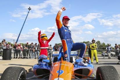 Dixon wins chaotic Detroit IndyCar, ex-F1 racer Ericsson on podium