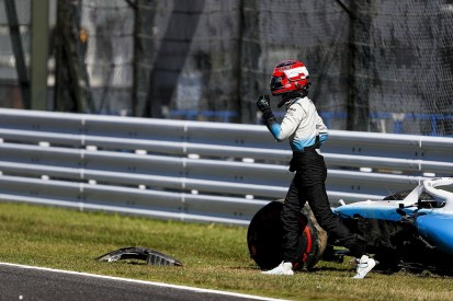 "Kubica: Williams F1 team removed Suzuka wing for ""strange reasons"""