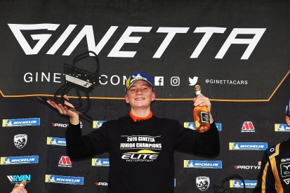 Hedley wins BTCC-supporting Ginetta Junior title early at Brands Hatch