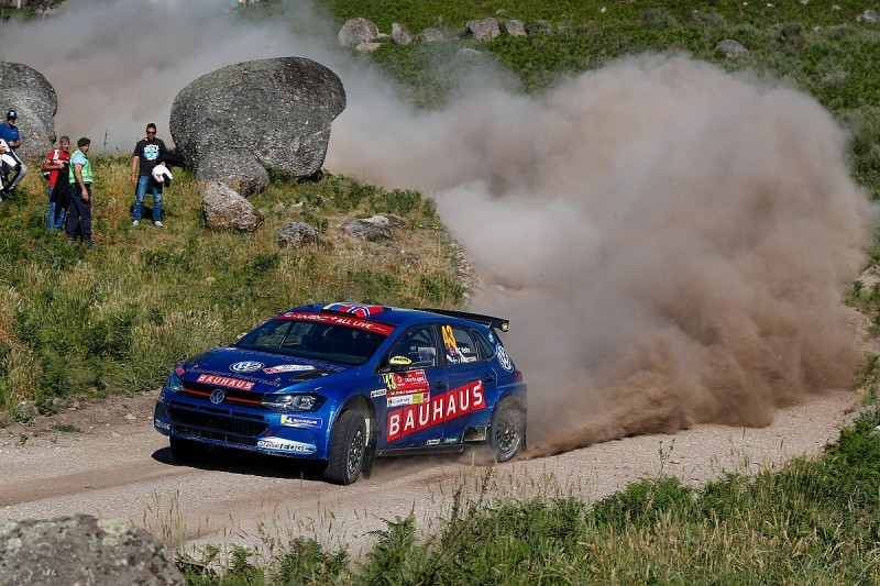WRC Portugal: VW working on fixes after five Polo R5s catch fire