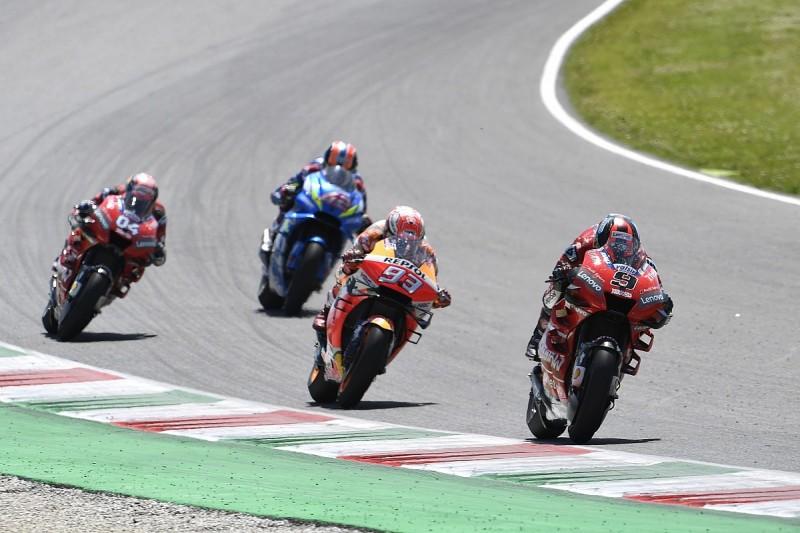 """Italian GP: Petrucci """"sorry"""" for """"aggressive"""" Dovizioso MotoGP pass"""