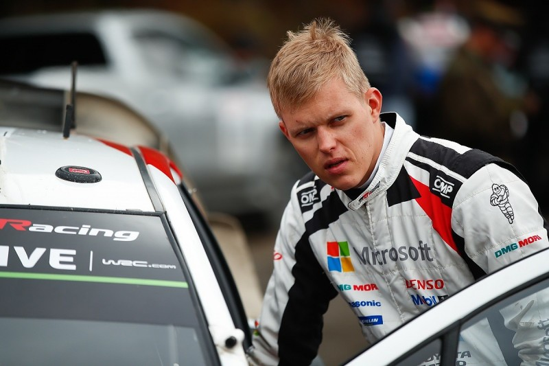 WRC Portugal: Ott Tanak clings to lead as Toyotas suffer damper issues