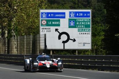 Sebastien Buemi quickest for Toyota as Le Mans testing begins