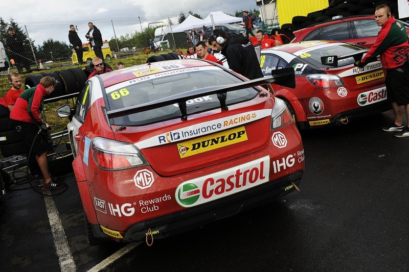 AmD Tuning to take over running of MGs in BTCC from Triple Eight