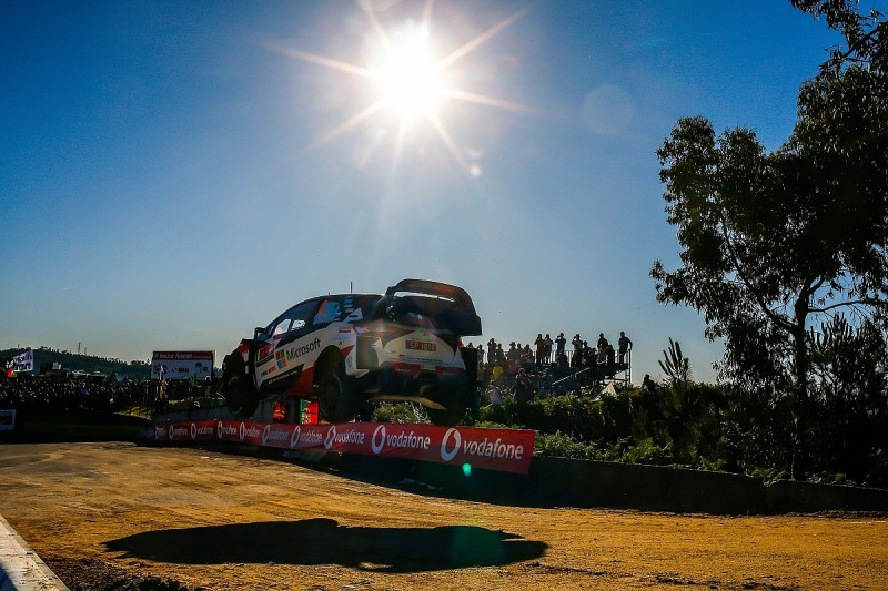 WRC Rally Portugal: Tanak leads Latvala as Toyota dominates again
